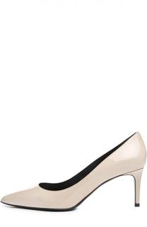 Лаковые туфли Paris на шпильке Saint Laurent