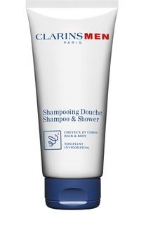 Тонизирующий шампунь для волос и тела Clarins