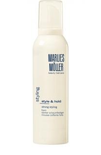 Пена для укладки сильной фиксации Marlies Moller