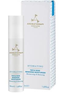 Ревитализирующий увлажняющий крем для лица Triple Rose Renewing Moisturiser Aromatherapy Associates