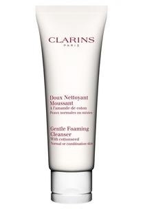 Очищающий пенящийся крем с экстрактом хлопка Doux Nettoyant Clarins