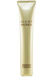 Ночная эмульсия для лица против морщин Night Wrinkle N Mikimoto Cosmetics