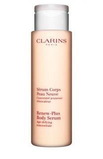 Омолаживающая и обновляющая кожу сыворотка для тела Serum Corps Peau Neuve Clarins