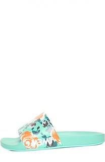 Резиновые шлепанцы с принтом Marc by Marc Jacobs