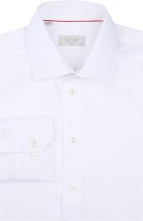 Приталенная сорочка с воротником кент Eton