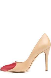 Кожаные туфли Love Vamp на шпильке Charlotte Olympia