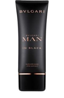 Бальзам после бритья Bvlgari Man In Black BVLGARI