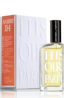 Парфюмерная вода Ambre 114 Histoires de Parfums