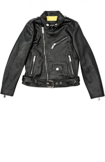 Куртка кожаная Dsquared2