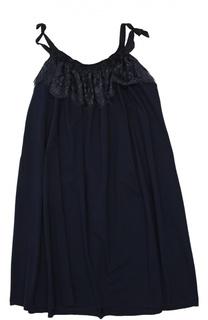 Платье джерси Lanvin