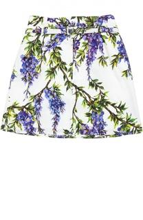 Юбка с ремнем Dolce & Gabbana