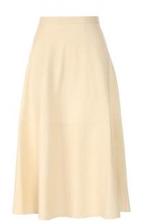 Кожаная юбка Alice + Olivia