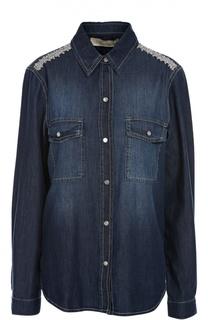 Джинсовая блуза Blumarine