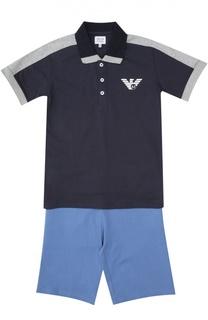 Футболка с шортами Armani Junior