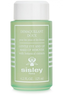 Лосьон для снятия макияжа с глаз и губ Gentle Eye and Lip Make-Up Remover Sisley