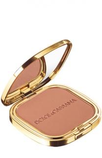 Пудра c эффектом загара Glow Bronzing Powder тон 30 Sunshine Dolce & Gabbana