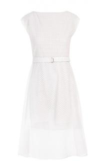 Платье с поясом Theory