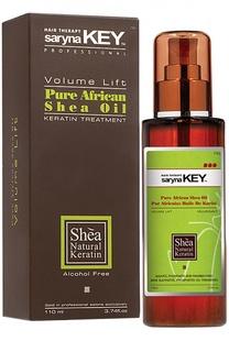 Натуральное Африканское масло Ши для тонких волос Volume Lift Saryna Key