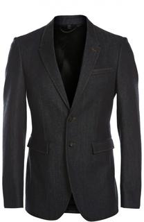 Джинсовый пиджак Burberry Prorsum