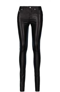 Кожаные брюки Saint Laurent