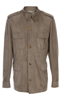 Замшевая куртка Billionaire