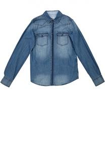 Рубашка джинсовая Armani Junior