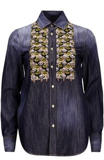 Джинсовая блуза Dsquared2