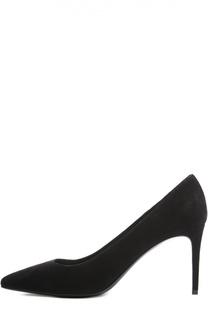 Замшевые туфли Paris Skinny на шпильке Saint Laurent