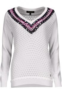 Вязаный пуловер Juicy Couture