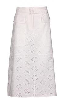 Вечерняя юбка с поясом Valentino