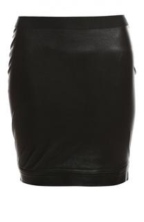 Кожаная юбка Helmut Lang