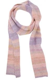 Вязаный шарф из смеси мохера и шелка Michael Kors