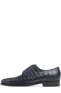 Туфли Anto из кожи крокодила Kiton