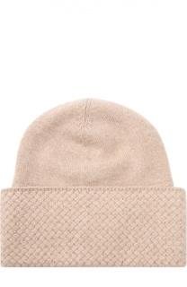 Кашемировая шапка тонкой вязки с кристаллами Swarovski William Sharp