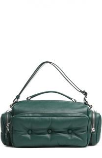 Кожаная сумка с накладными карманами J.W. Anderson