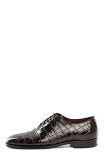 Туфли из крокодиловой кожи Kiton
