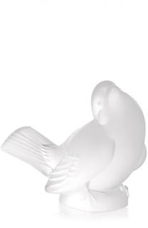 "Скульптура Sparrow ""Sparrow Head Up"" Lalique"