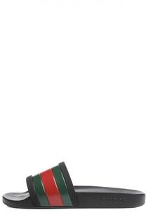 Резиновые шлепанцы Pursuit 72 Gucci