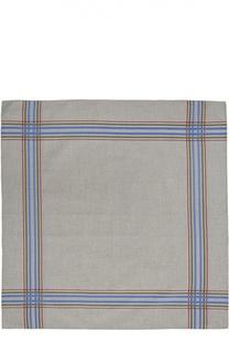 Хлопковый носовой платок с контрастными полосами Simonnot-Godard