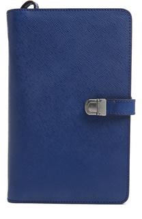 Кожаное портмоне с отделением для документов Giorgio Armani