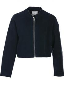 Замшевая куртка Sandro