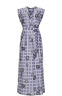 Вечернее платье с поясом Gerard Darel