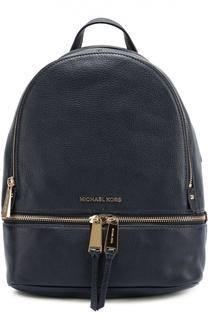 Кожаный рюкзак Rhea small Michael Michael Kors