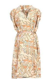 Платье с поясом Escada Sport