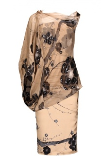 Платье с топом Tom Ford