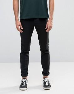 Черные облегающие джинсы из эластичного денима !SOLID - Черный