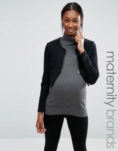 Куртка для беременных Mamalicious - Черный Mama.Licious