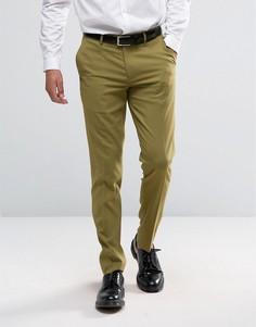 Светло-зеленые зауженные брюки ASOS - Зеленый