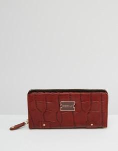 Большой кожаный кошелек Modalu Pippa - Коричневый