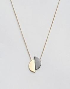 Ожерелье с полумесяцами Nylon - Золотой